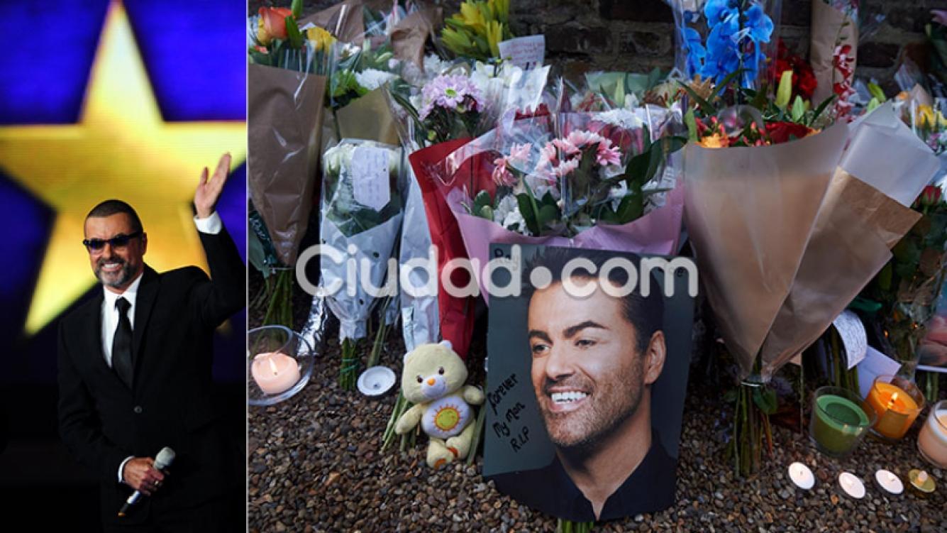 El misterioso funeral de George Michael, a tres meses de su muerte. Foto: AFP