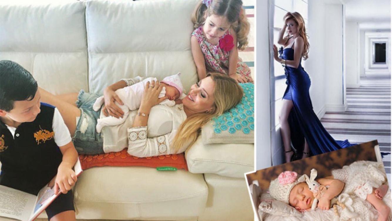"""Evangelina Anderson, a un mes y medio de dar a luz: """"Vuelta al ruedo"""""""