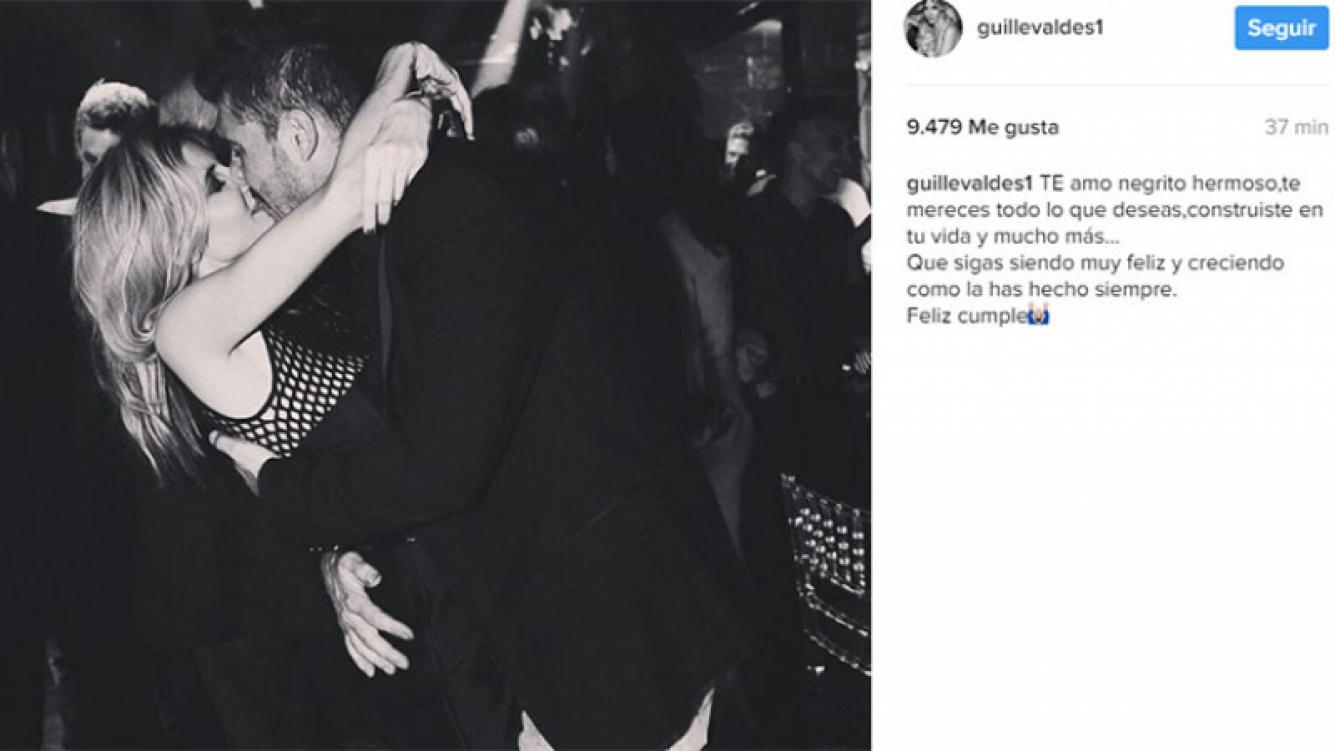 "El saludo de cumple de Guillermina a Marcelo Tinelli: ""Te amo negrito hermoso""."