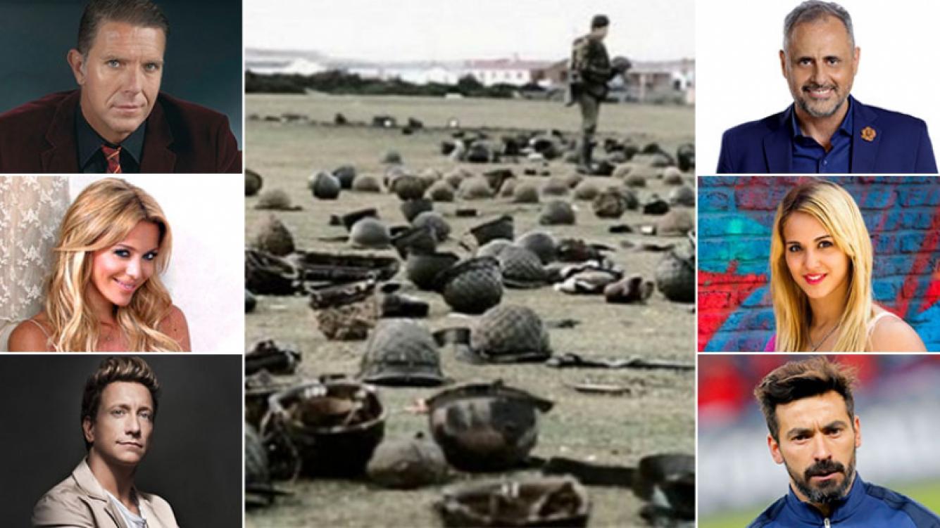 Los mensajes de los famosos en el Día del Veterano y de los Caídos en la Guerra de Malvinas