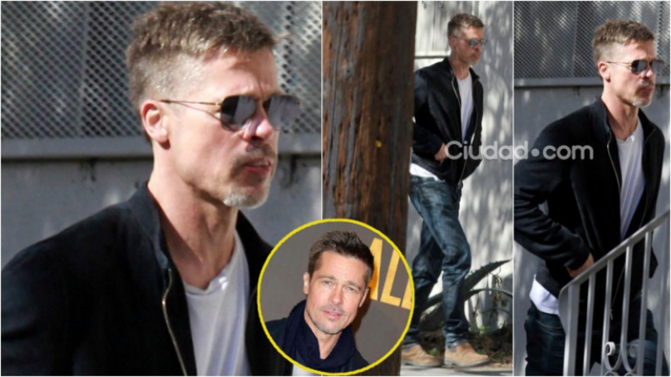 Brad Pitt genera preocupación al aparecer delgadísimo y demacrado en Los Ángeles. Foto: Grosby Group