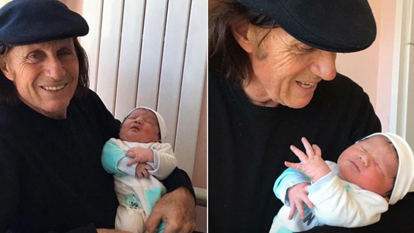 ¡Felicidades! Guillermo Vilas fue padre por cuarta vez a los 64 años