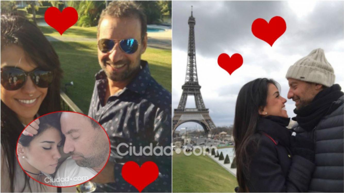 ¡Diosa enamorada! Las fotos de viaje de Cynthia Aller con su nuevo novio en París. Foto: Ciudad.com