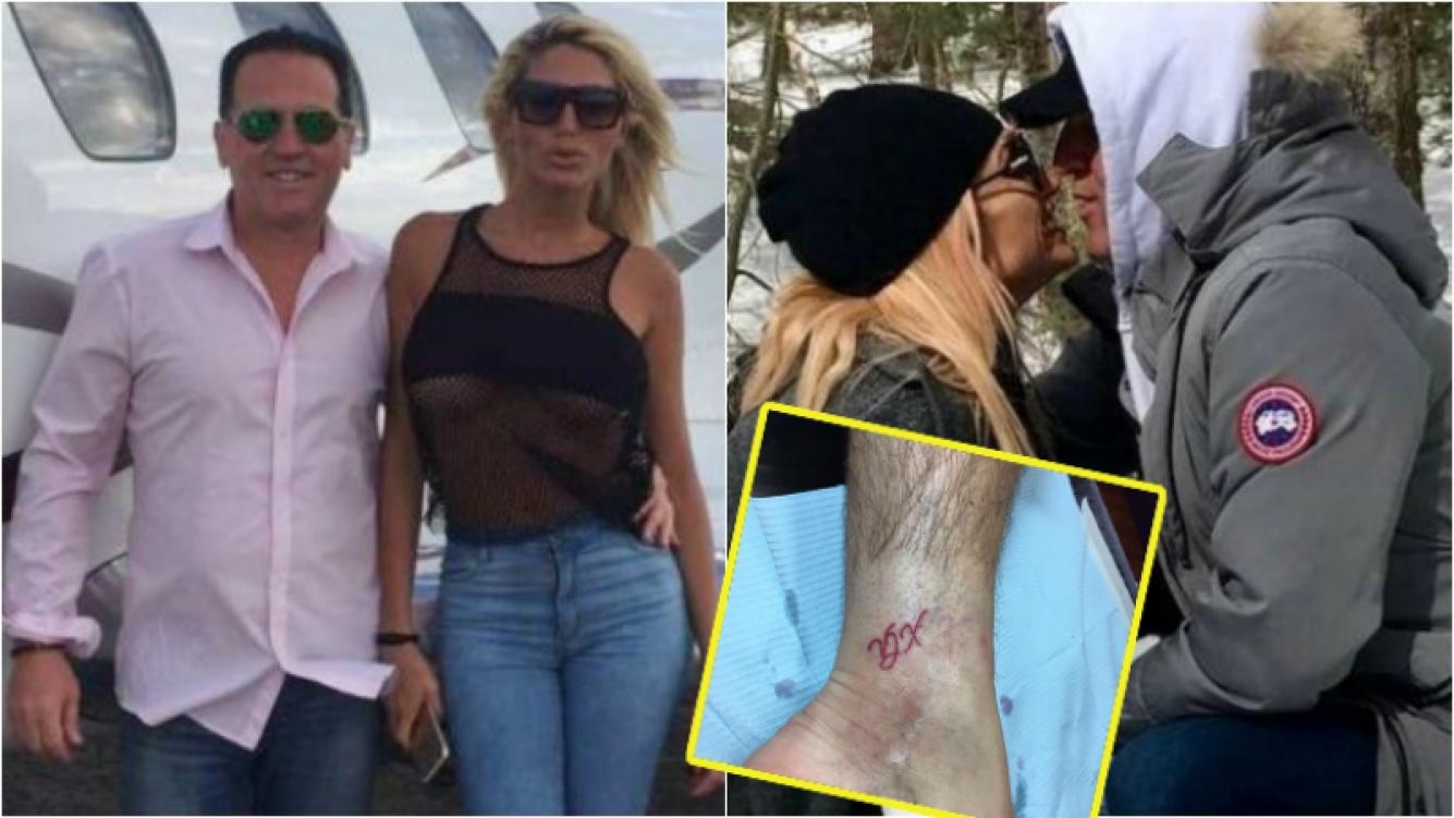 Vicky Xipolitakis, sobre su romance con Javier Naselli, el millonario que la conquistó… ¡y se tatuó sus iniciales! Foto: Clarín