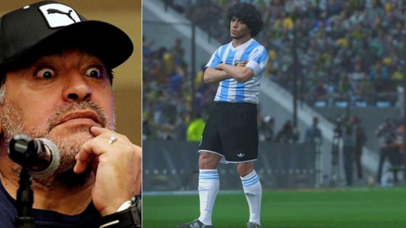 Diego Maradona lleva a juicio a los creadores del PES 2017 por el uso de su imagen.