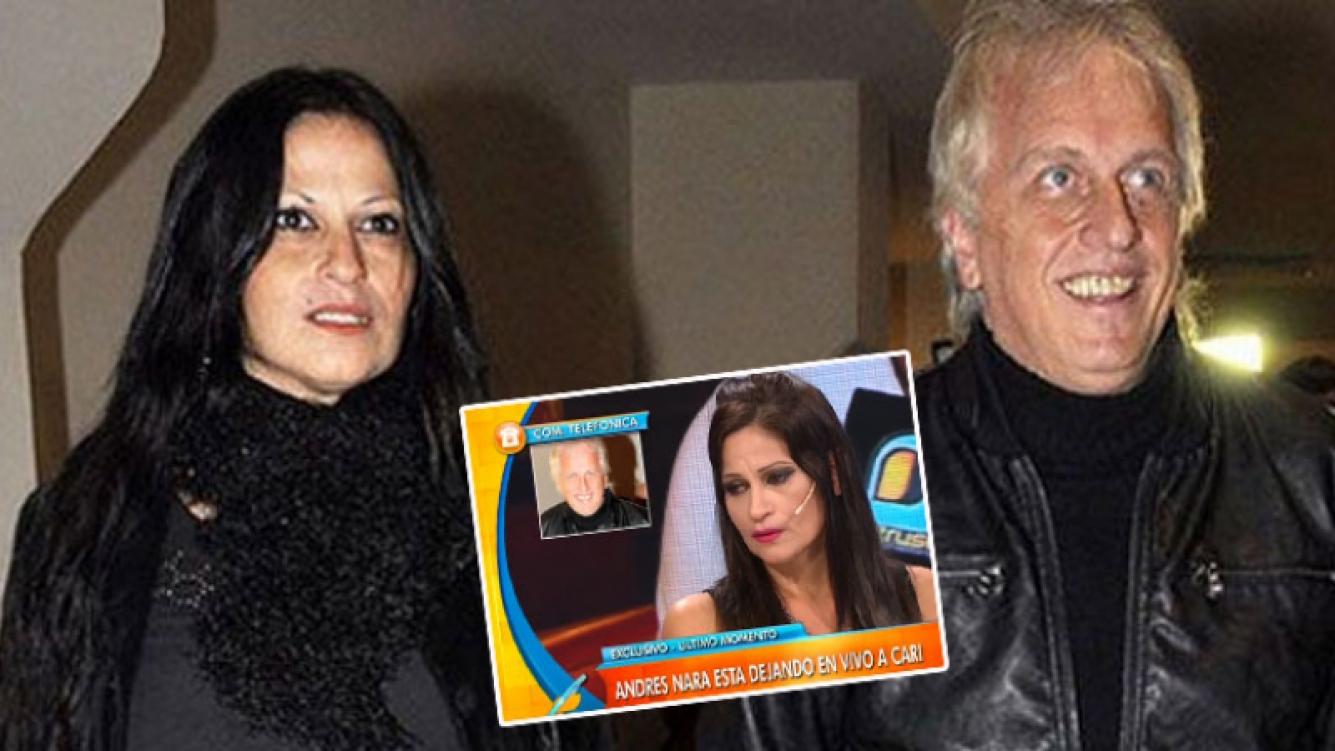 Carinara se reconcilió con Andrés Nara tras ser dejada por TV