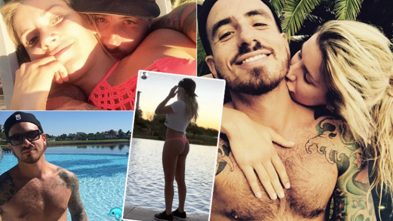 Fede Bal y Laurita Fernández, fotos súper románticas (Foto: Instagram)