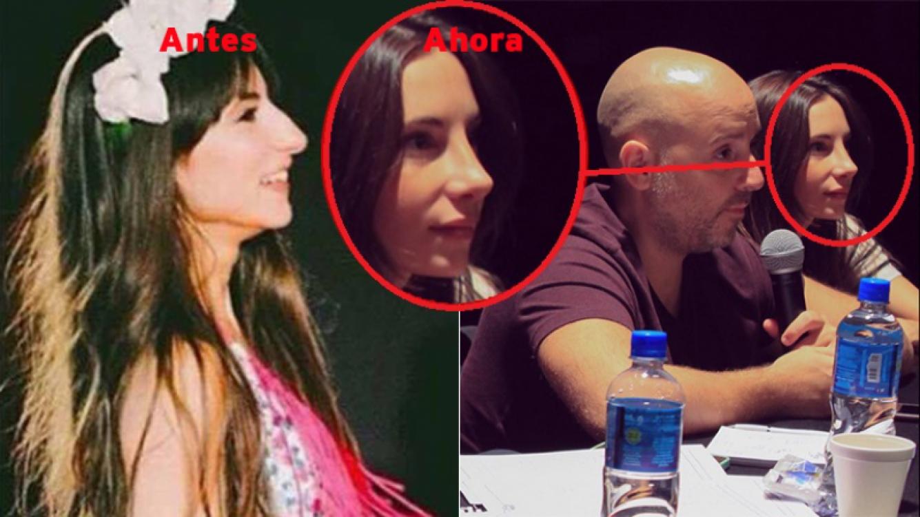 Magui Bravi, ¿se operó la nariz? El antes y el después. Foto: Twitter.