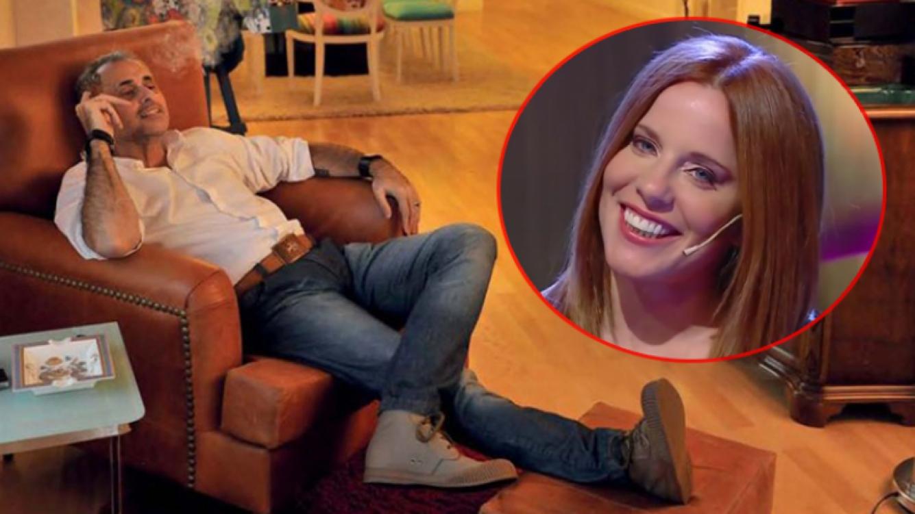 Jorge Rial contó que se enteró del embarazo de Agustina Kämpfer de boca de su propia ex. (Fotos: archivo revista Gente y captura Telefe)