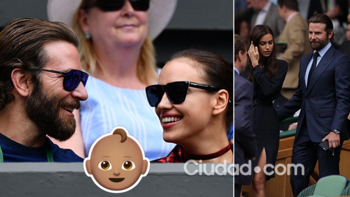 Bradley Cooper e Irina Shayk, felices con la llegada de su primer hijo. Foto: AFP