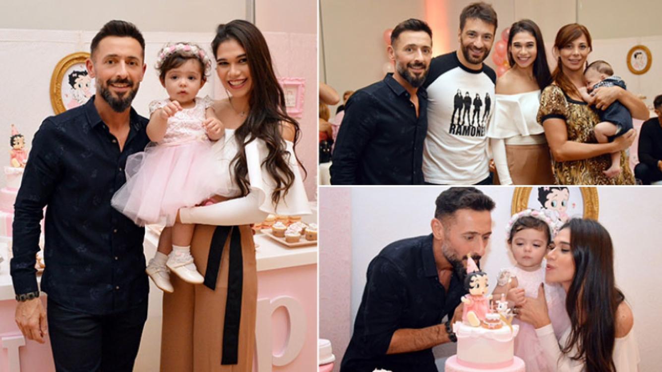 ¡Una princesita! Mariana de Melo festejó el primer cumpleaños de Lupe