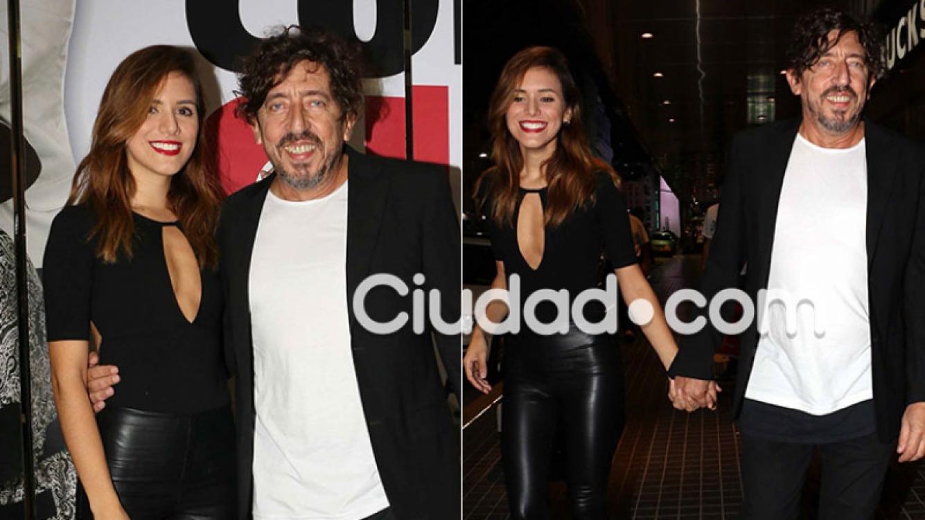 Alejandro Müller, súper enamorado de Roxana (Foto: Movilpress)