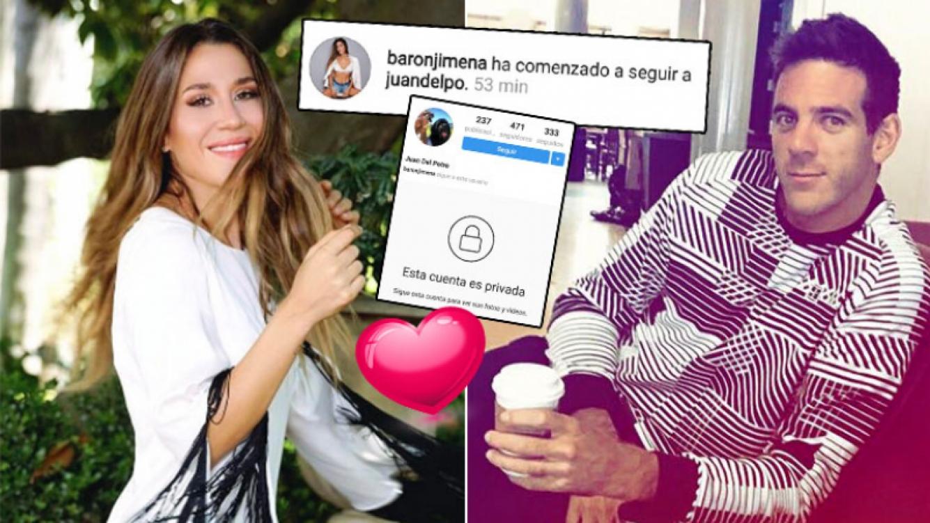 ¡Romance en las redes! El nuevo gesto 2.0 de Jimena Barón y Juan Martín del Potro