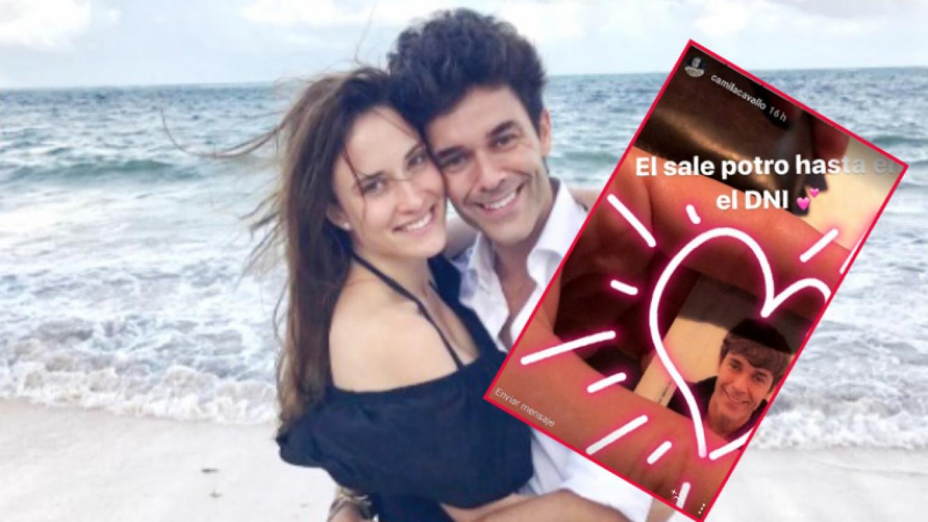 """Camila Cavallo """"escrachó"""" a Mariano Martínez y publicó la foto de su DNI (Foto: Web e Instagram Stories)"""