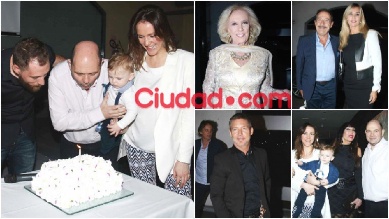 Desfile de celebrities en el festejo de cumpleaños Nº 60 de Carlos Rottemberg (Fotos: Movilpress)