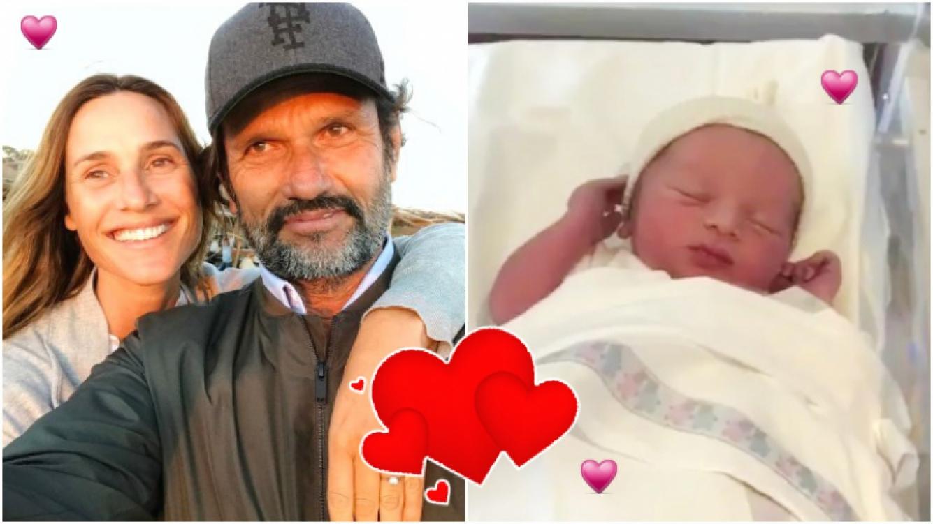 Lara Bernasconi fue mamá por primera vez y presentó a su hijo Iñaki en las redes (Fotos: Instagram)