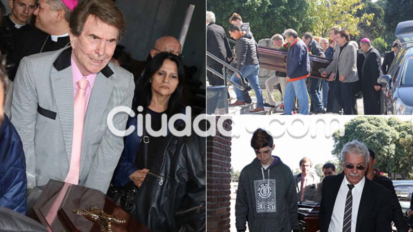 El triste último adiós de Silvio Soldán a su madre (Fotos: Movilpress)