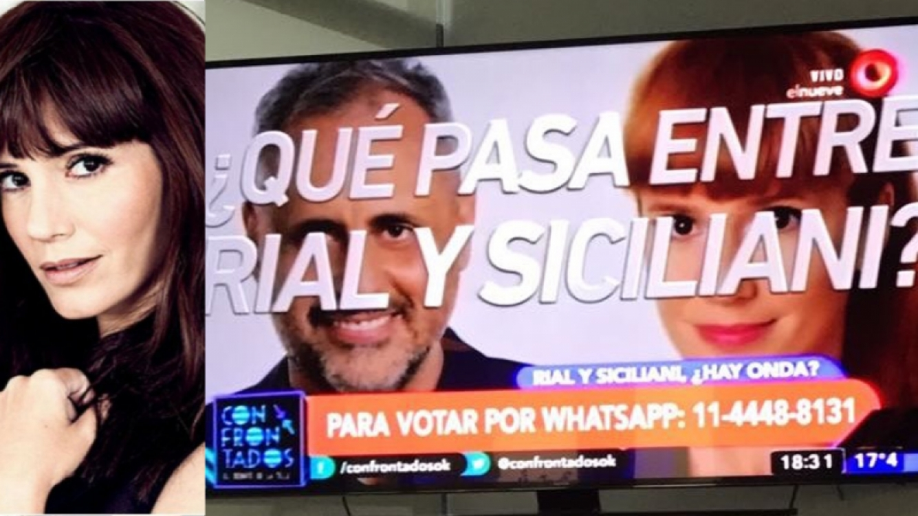 """""""¡Me mandan esto! Por Diosss un delirio tras otro #Cualquieraaa"""", twitteó Griselda Siciliani."""