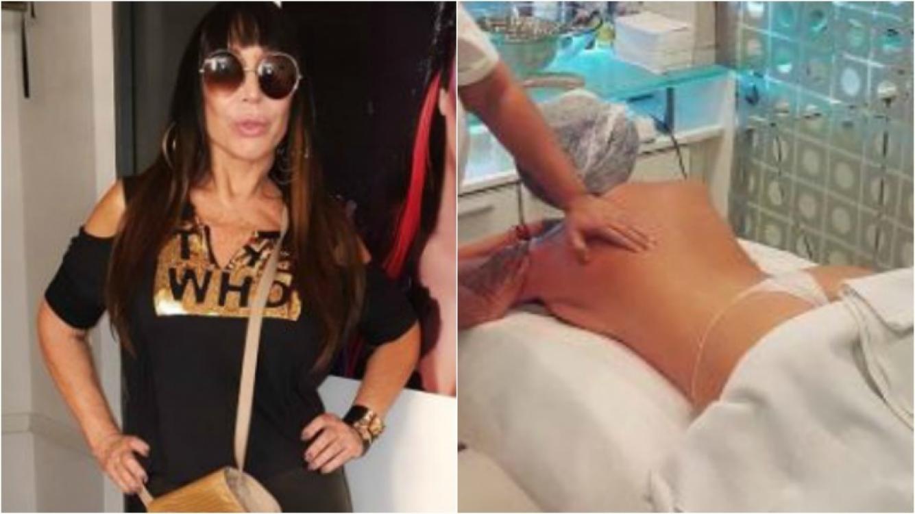 Moria Casán mostró su cola en tanga y revolucionó Instagram. Foto: Instagram