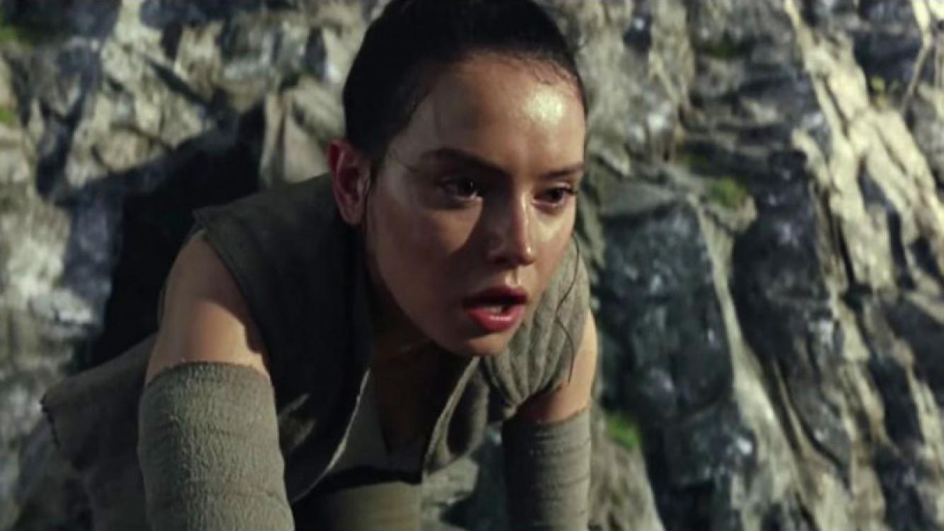 El primer tráiler de Star Wars: The Last Jedi, el octavo filme de la saga. Fuente: AFP.
