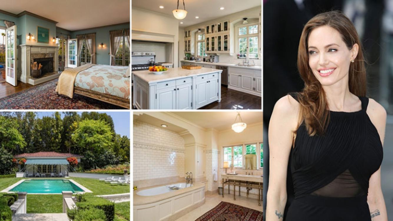 Angelina Jolie compró una mansión de 25 millones de dólares en Los Ángeles. Foto: www.mansionglobal.com