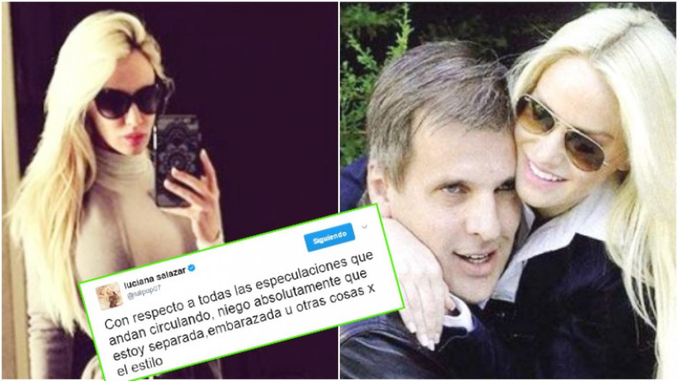 Luciana Salazar le puso punto final a los rumores sobre una crisis con Redrado y las especulaciones sobre su posible embarazo (Fotos: Web)