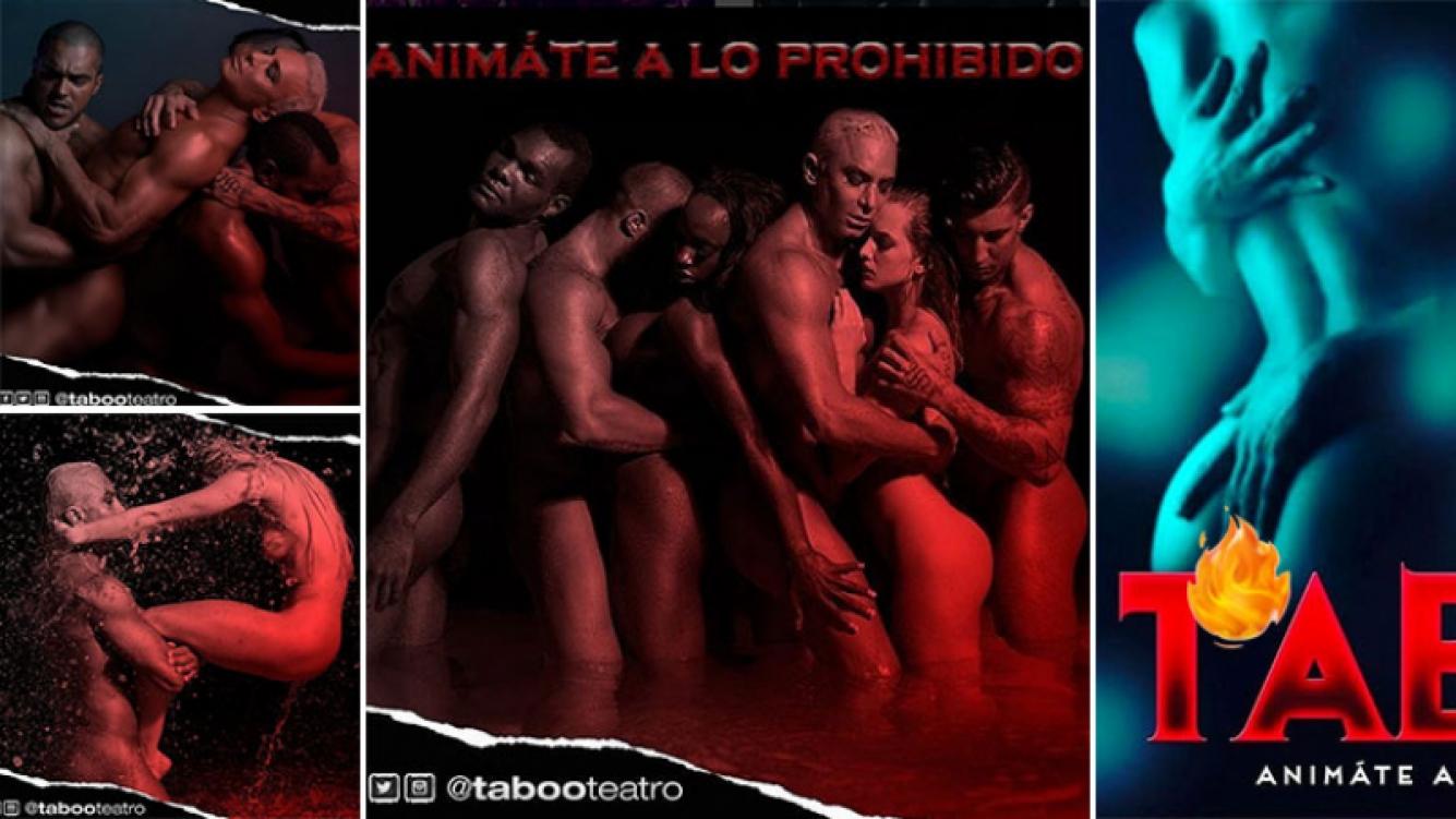 Flavio Mendoza adelantó cómo será Taboo, su próxima obra teatral erótica. Foto: Instagram.