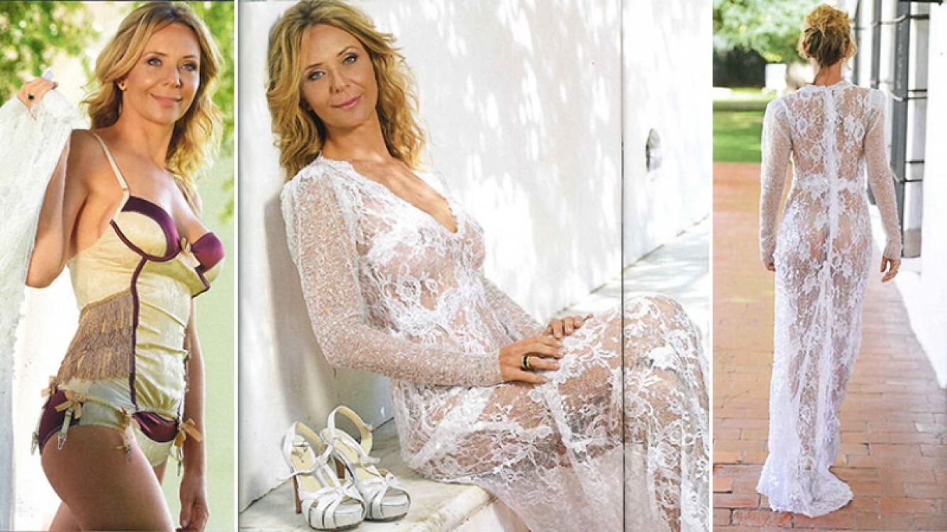 Evelyn von Brocke se casa a los 49 años con Juan Viaggio. (Foto: revista Caras)