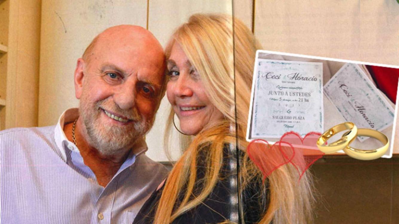 Horacio Pagani se casa por tercera vez (Foto: revista Gente)