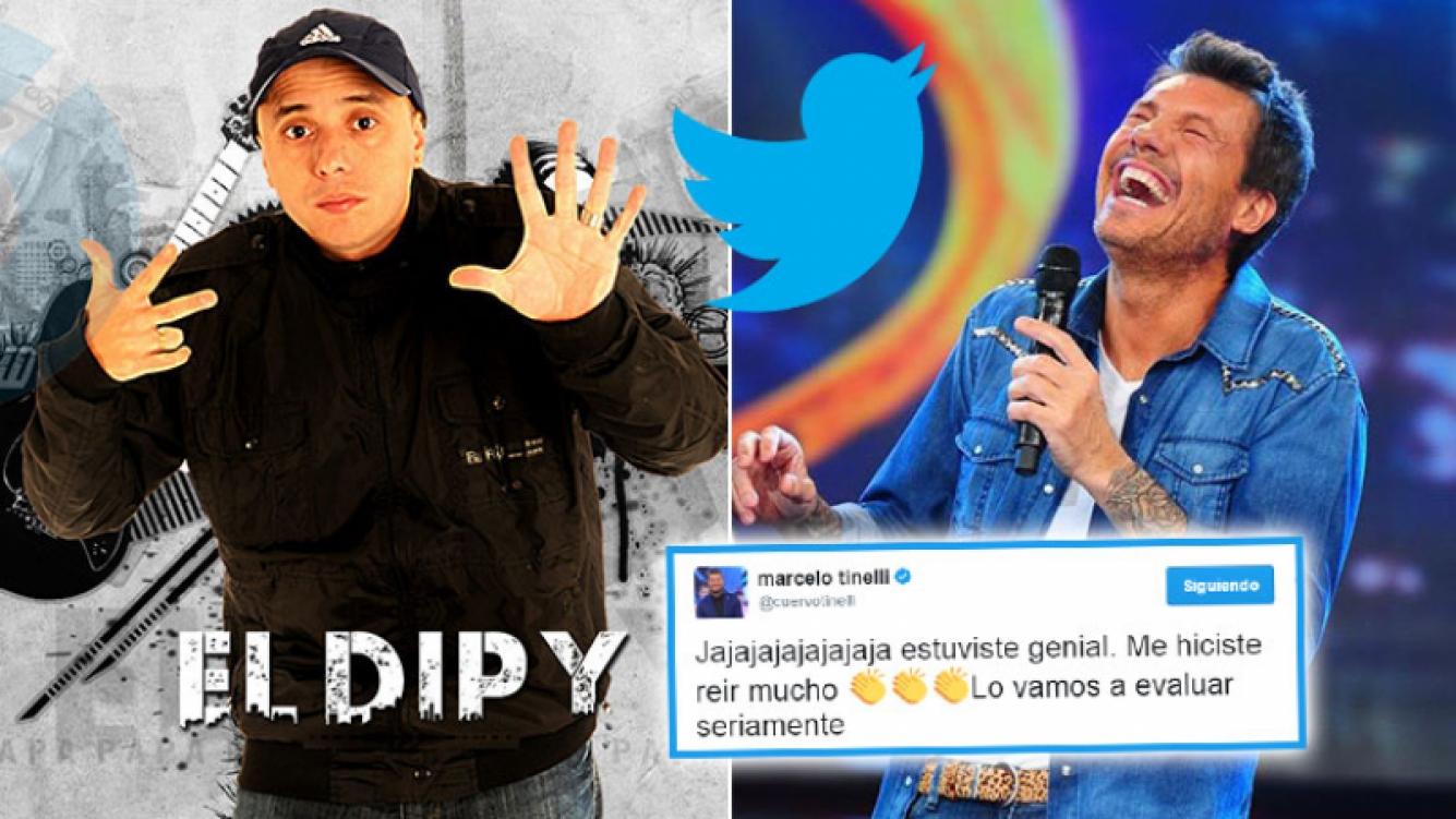 El Dipy hizo una divertida versión del hit Despacito para entrar a Bailando 2017.