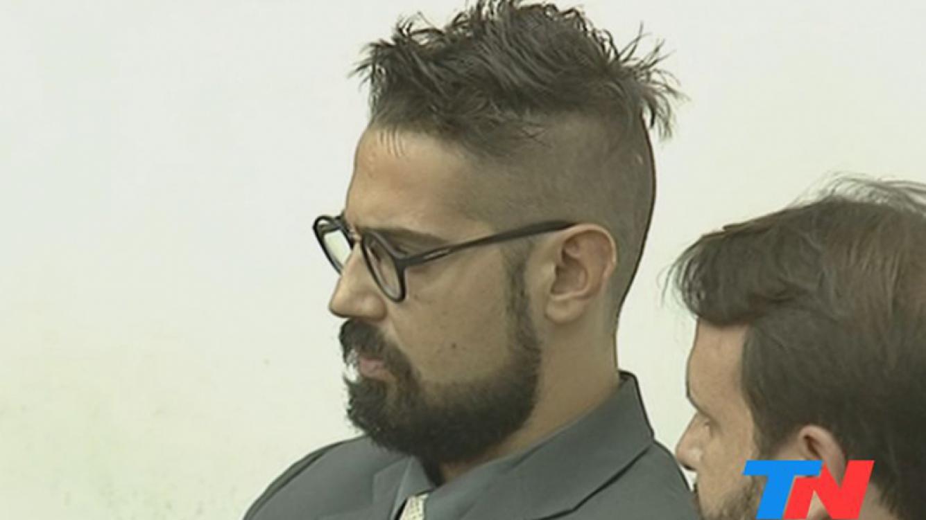 Pablo Garcia fue condenado a cuatro años de prisión (Foto: Captura TN).