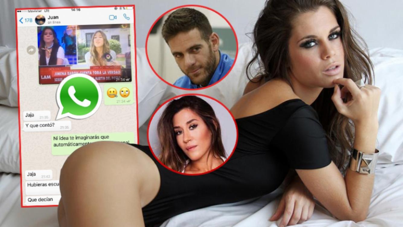 Flor Ventura admitió que el chat existió: fue el 13 de febrero, cuando Barón aún no blanqueaba su romance con Del Potro.
