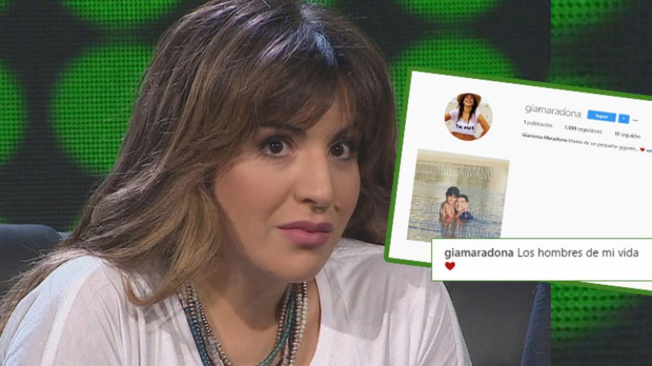 Gianinna Maradona debutó en