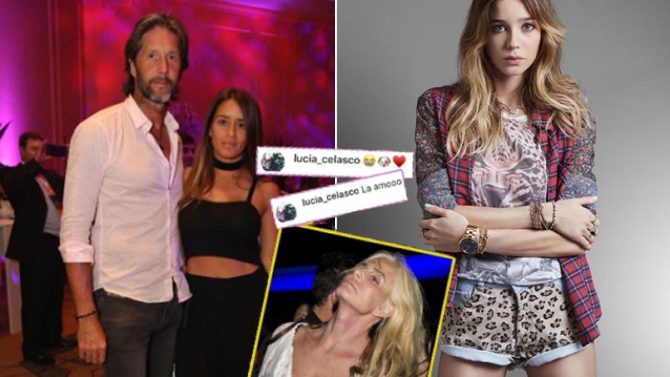 Lucía Celasco y Vito Rodríguez se siguen en Instagram y tienen muy buena onda.