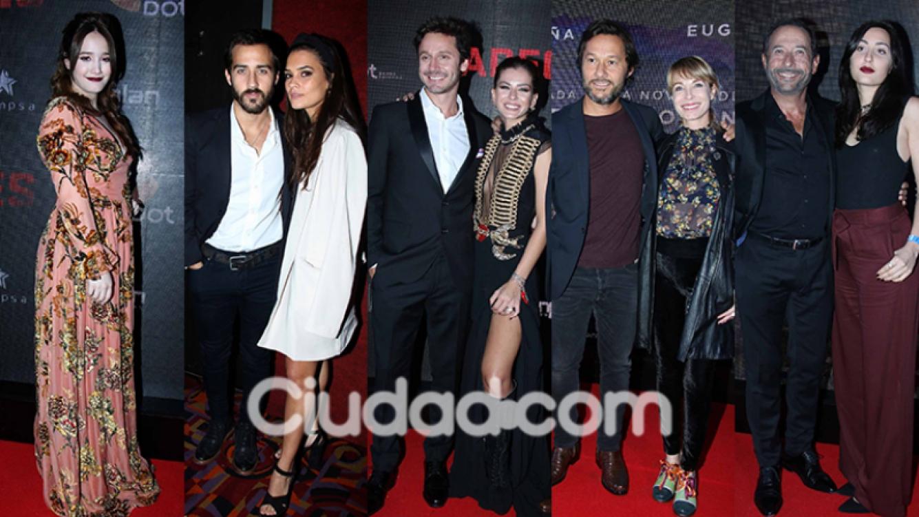 Todos los famosos en el estreno de Los Padecientes (Fotos: Movilpress).