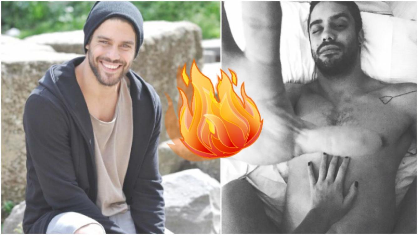 La foto hot de Juan Guilera... ¿en pleno acto sexual? (Fotos: Instagram)