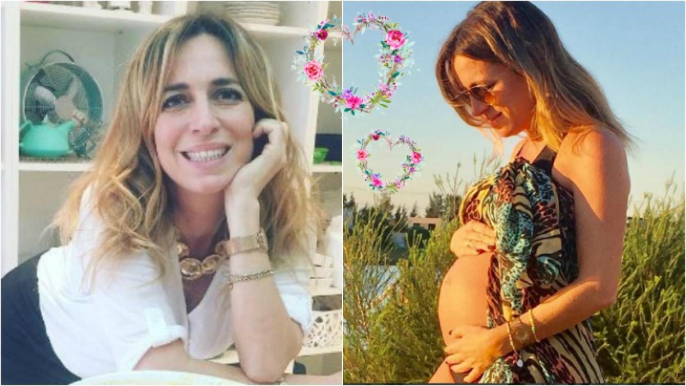 Sandra Borghi está en la dulce espera de Juana. Foto: Instagram