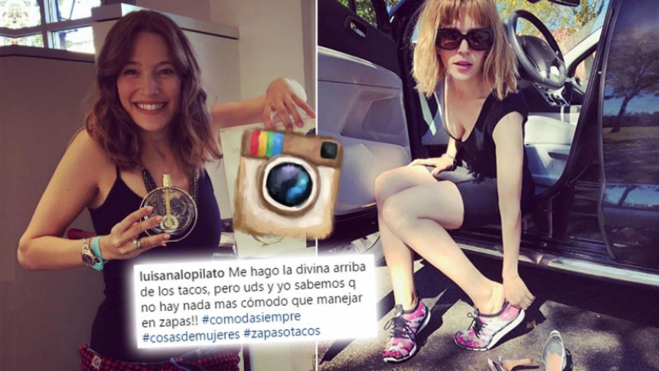 La divertida confesión femenina de Luisana Lopilato.