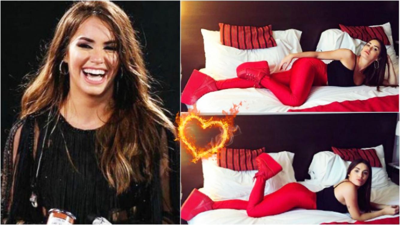 """Lali Espósito, súper sexy en la cama y en calzas rojas: """"Casual"""" Foto: Instagram"""