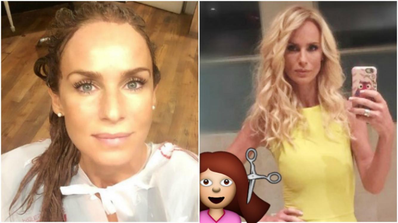 El cambio de look de Sabrina Rojas para interpretar un nuevo personaje en ficción (Fotos: Instagram)