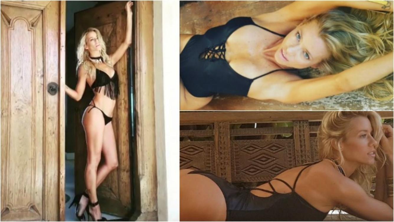 """El lomazo de Nicole Neumann para una campaña: """"Siempre sonreír"""" Foto: Instagram"""