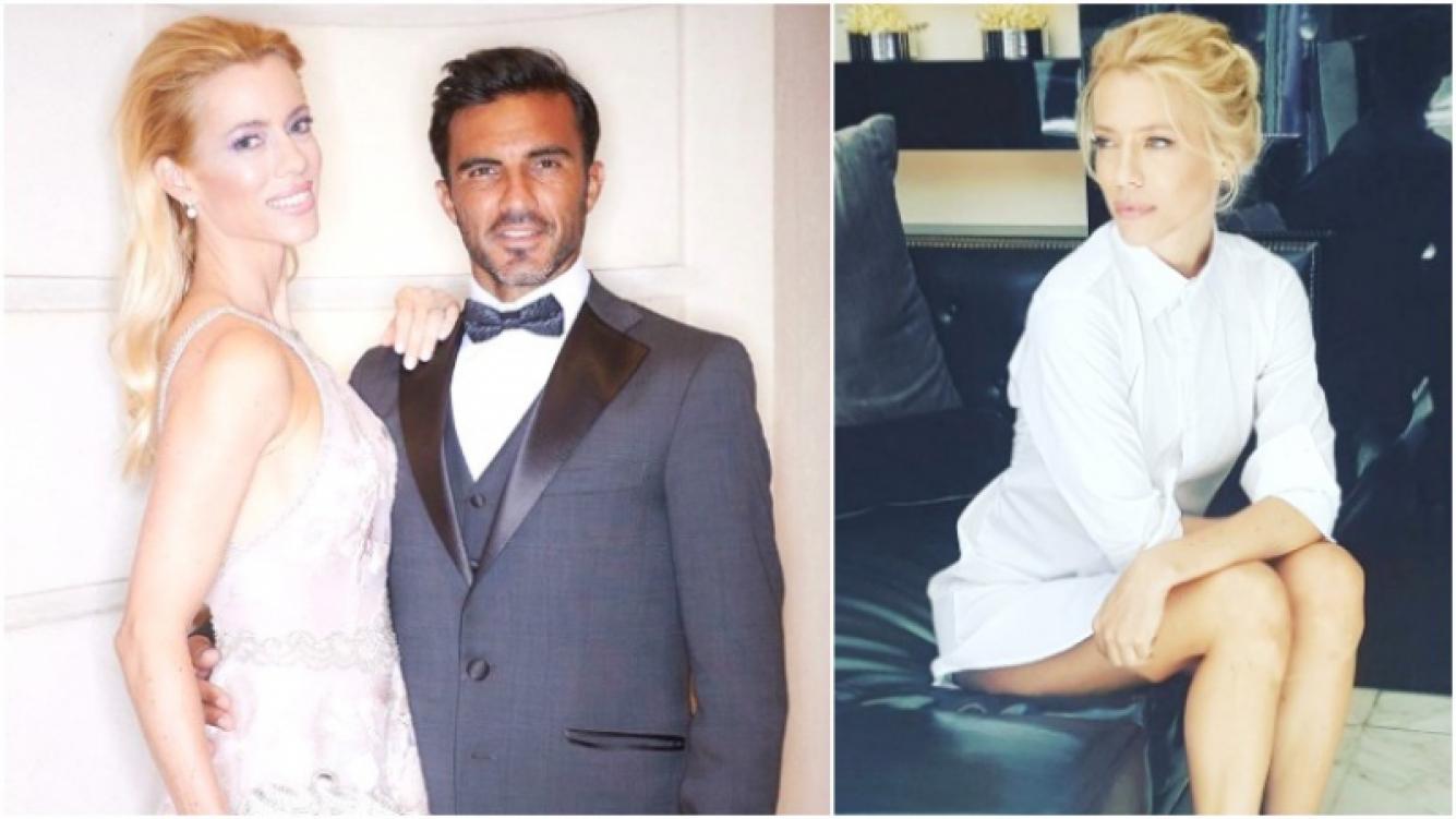 Nicole Neumann y Fabián Cubero, ¿separados? (Fotos: Instagram)