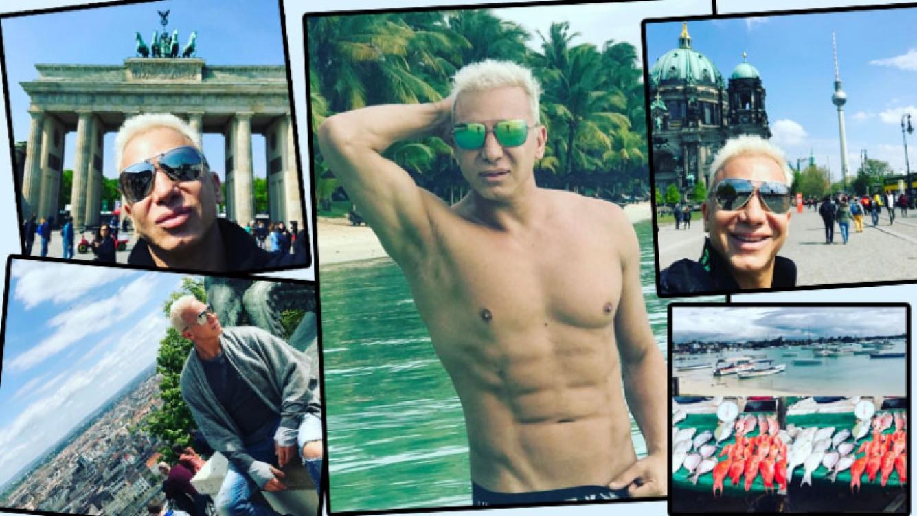 Las mega vacaciones de Flavio Mendoza (Foto: Instagram)