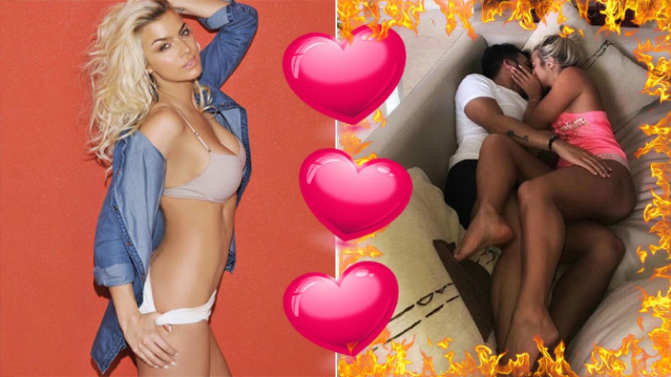 ¡Arrumacos en la intimidad! Ailén Bechara, a puro mimo con su novio en el sillón de su casa