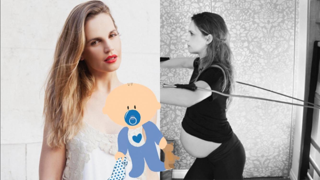 Sabrina Garciarena, embarazadísima (Fotos: Instagram).