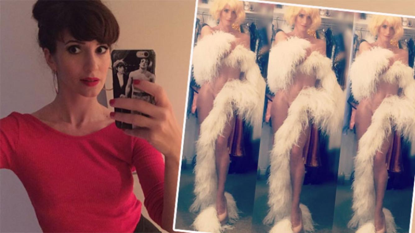 Las fotos súper sexies de Griselda Siciliani en el camarín (Foto: Instagram)