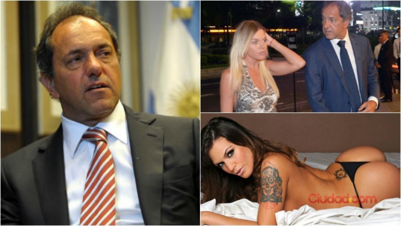 """La palabra de Daniel Scioli sobre el escándalo con Gisela Berger y Sofía Clérici: """"Son temas de mi vida privada"""""""