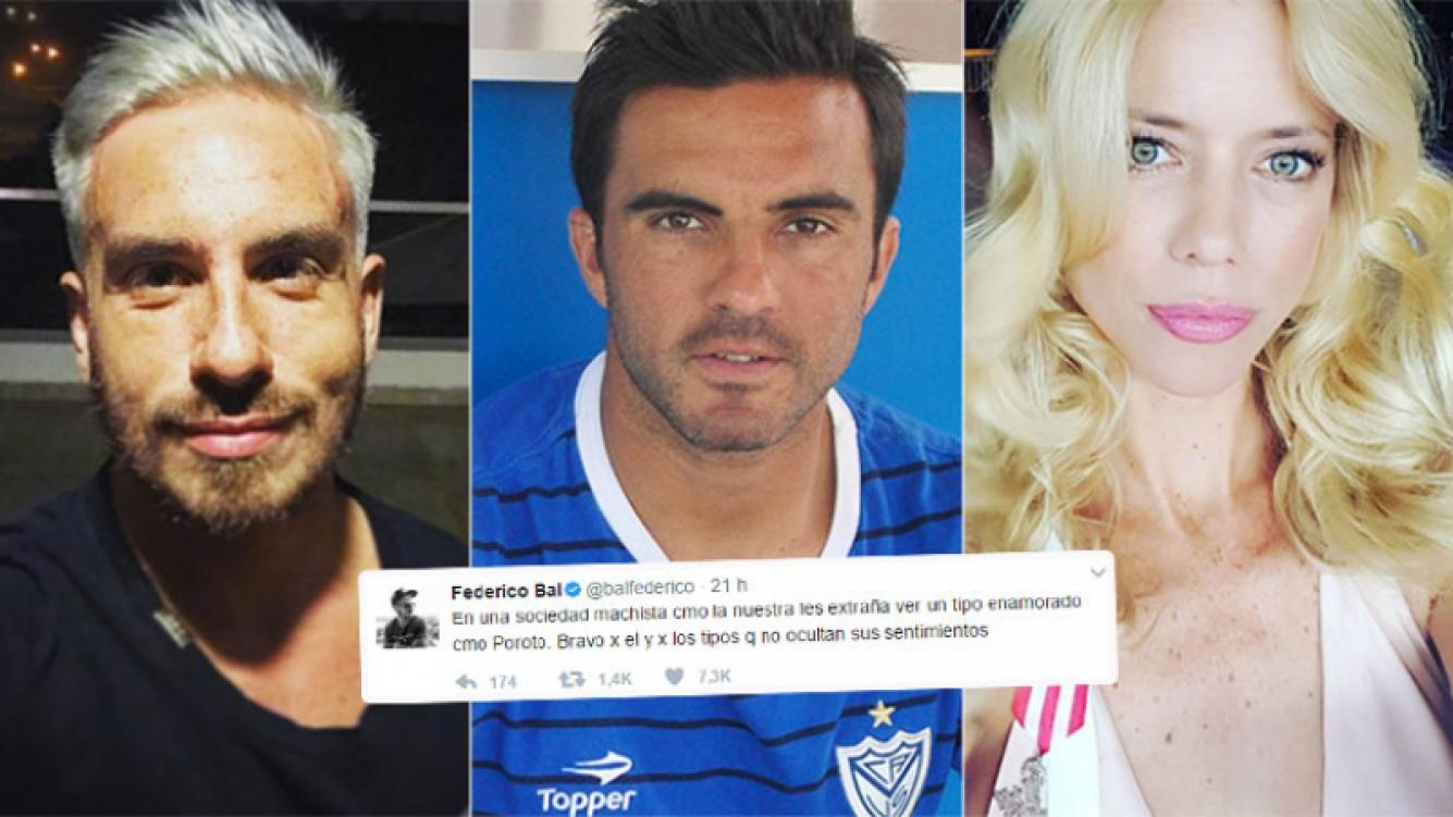 Fede Bal, apoyó a Cubero tras su separación de Nicole Neumann