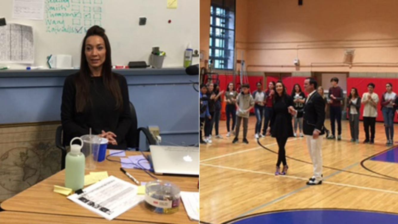 Mora Godoy, embajadora contra el bullying en Nueva York (Foto: prensa)