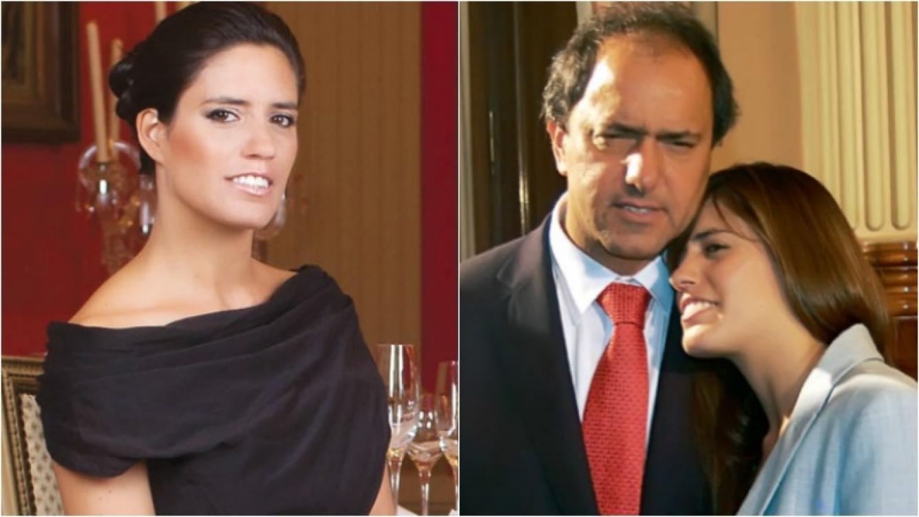 El sugestivo tweet de Lorena, la hija de Daniel Scioli.